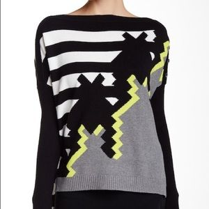 L.A.M.B Houndstooth Sweater